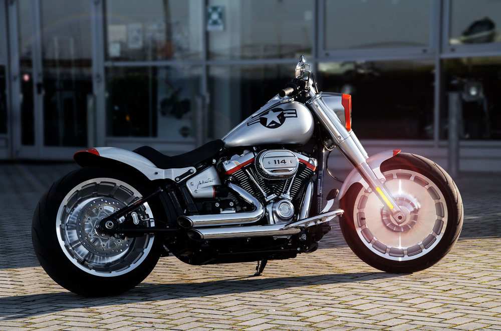 Harley Davidson  - 45